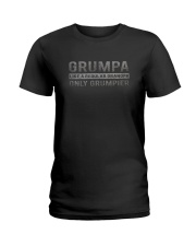 GRUMPA GRANDPA GRUMPIER Ladies T-Shirt thumbnail