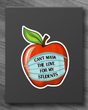 CAN'T MASK THE LOVE FOR MY STUDENTS Sticker - Single (Vertical) aos-sticker-single-vertical-lifestyle-front-10