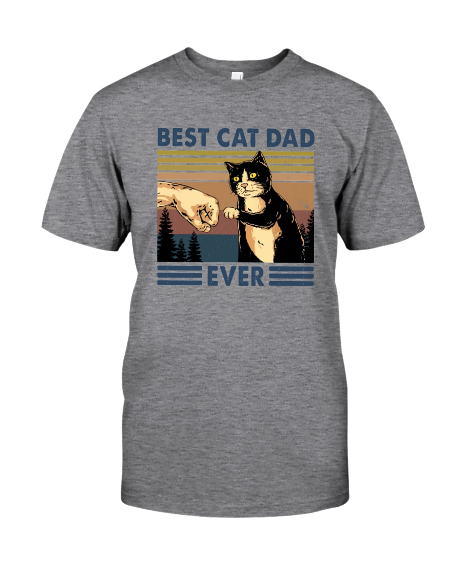 BEST CAT DAD EVER Classic T-Shirt