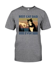 BEST CAT DAD EVER Classic T-Shirt tile