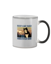 BEST CAT DAD EVER Color Changing Mug tile