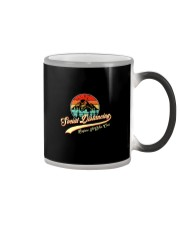 SOCIAL DISTANCING BEFORE IT WAS COOL FUNNY HIKING Color Changing Mug thumbnail