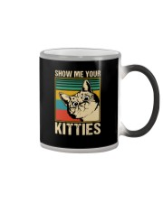 SHOW ME YOUR KITTIES VINTAGE Color Changing Mug thumbnail
