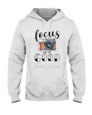 FOCUS ON THE GOOD Hooded Sweatshirt thumbnail