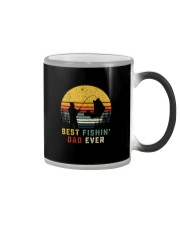 BEST FISHIN' DAD EVER Color Changing Mug thumbnail