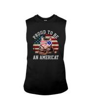 PROUD TO BE AN AMERICAT Sleeveless Tee thumbnail
