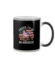 PROUD TO BE AN AMERICAT Color Changing Mug thumbnail