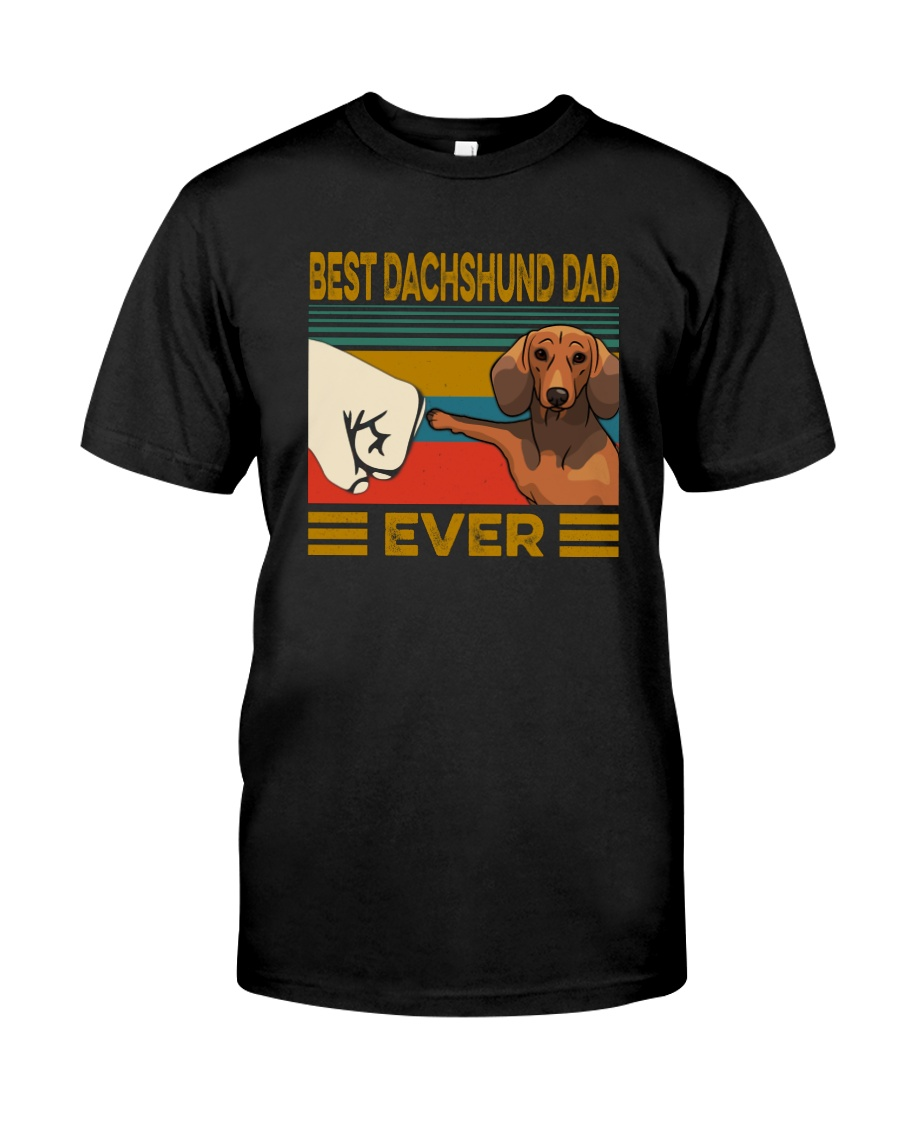 BEST Dachshund DAD EVER Classic T-Shirt