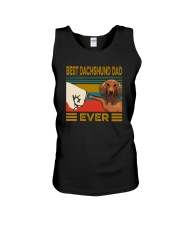 BEST Dachshund DAD EVER Unisex Tank thumbnail