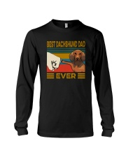 BEST Dachshund DAD EVER Long Sleeve Tee thumbnail