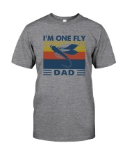I'M ONE FLY DAD VINTAGE Classic T-Shirt front