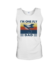 I'M ONE FLY DAD VINTAGE Unisex Tank thumbnail