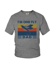 I'M ONE FLY DAD VINTAGE Youth T-Shirt thumbnail