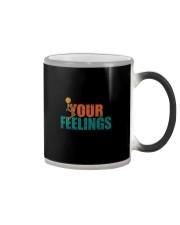 F YOUR FEELINGS Color Changing Mug thumbnail