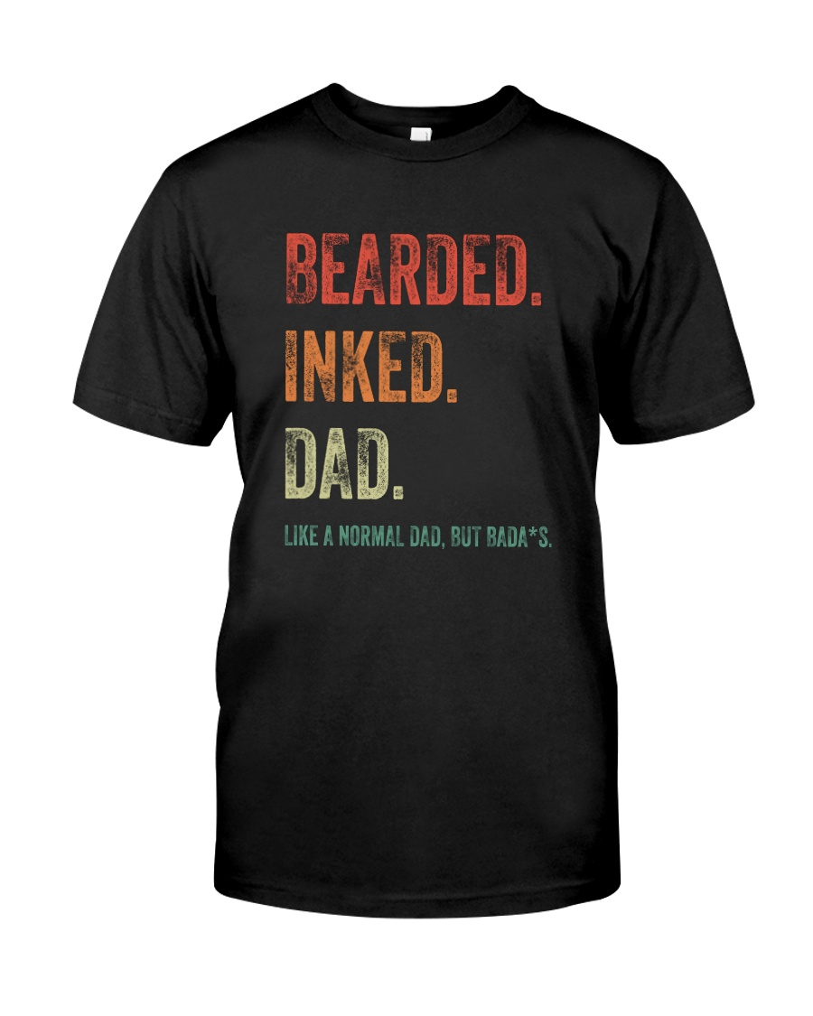 DISCOUNT BEARDED INKED DAD Classic T-Shirt