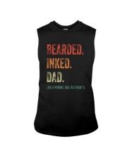 DISCOUNT BEARDED INKED DAD Sleeveless Tee thumbnail