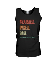 DISCOUNT BEARDED INKED DAD Unisex Tank thumbnail