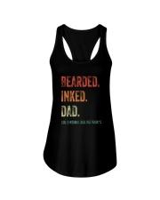 DISCOUNT BEARDED INKED DAD Ladies Flowy Tank thumbnail
