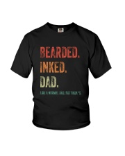 DISCOUNT BEARDED INKED DAD Youth T-Shirt thumbnail