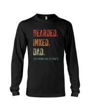 DISCOUNT BEARDED INKED DAD Long Sleeve Tee thumbnail