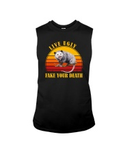 LIVE UGLY FAKE YOUR DEATH POSSUM Sleeveless Tee thumbnail