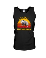 LIVE UGLY FAKE YOUR DEATH POSSUM Unisex Tank thumbnail