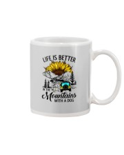 LIFE IS BETTER IN THE MOUNTAINS WITH A DOG Mug thumbnail