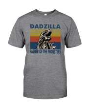 DADZILLA FATHER OF MONSTER Classic T-Shirt front