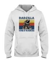 DADZILLA FATHER OF MONSTER Hooded Sweatshirt thumbnail