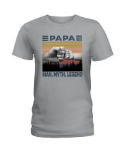 PAPA MAN MYTH LEGEND Ladies T-Shirt thumbnail