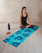 TURTLES YOGA Yoga Mat 70x24 (horizontal) aos-yoga-mat-lifestyle-18