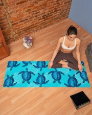 TURTLES YOGA Yoga Mat 70x24 (horizontal) aos-yoga-mat-lifestyle-19