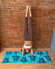 TURTLES YOGA Yoga Mat 70x24 (horizontal) aos-yoga-mat-lifestyle-20