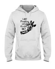 I JUST FREAKING LOVE GIRAFFES OK Hooded Sweatshirt thumbnail