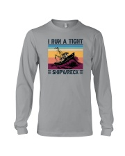 I RUN A TIGHT SHIPWRECK LIGHT Long Sleeve Tee thumbnail