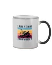 I RUN A TIGHT SHIPWRECK LIGHT Color Changing Mug thumbnail