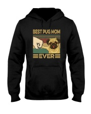 BEST PUG MOM EVER Hooded Sweatshirt tile