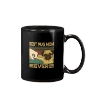 BEST PUG MOM EVER Mug tile