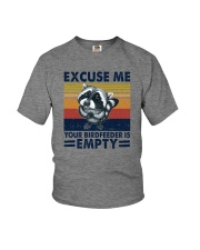 EXCUSE ME YOUR BIRDFEEDER IS EMPTY Youth T-Shirt thumbnail