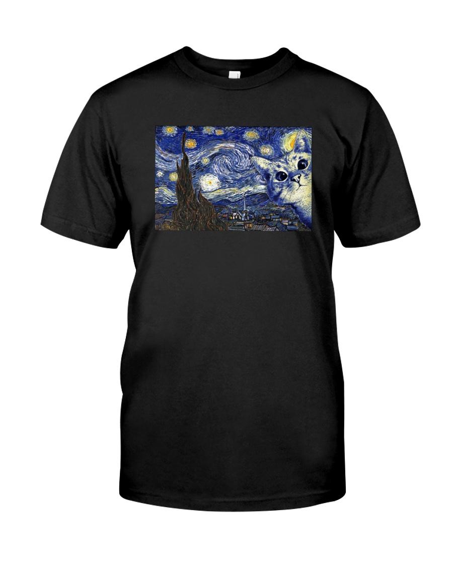 VAN GOGH CAT Classic T-Shirt