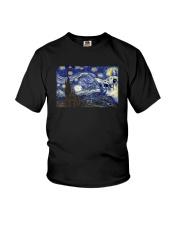 VAN GOGH CAT Youth T-Shirt thumbnail