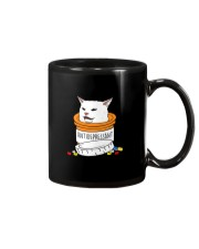 ANTIDEPRESSANT MEME CAT Mug thumbnail