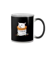 ANTIDEPRESSANT MEME CAT Color Changing Mug thumbnail