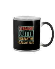 STRAIGHT OUTTA QUARANTINE CLASS OF 2020 Color Changing Mug thumbnail