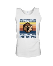 WE ALL ROLL FOR INITIATIVE Unisex Tank thumbnail