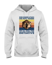 WE ALL ROLL FOR INITIATIVE Hooded Sweatshirt thumbnail