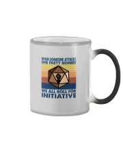 WE ALL ROLL FOR INITIATIVE Color Changing Mug thumbnail
