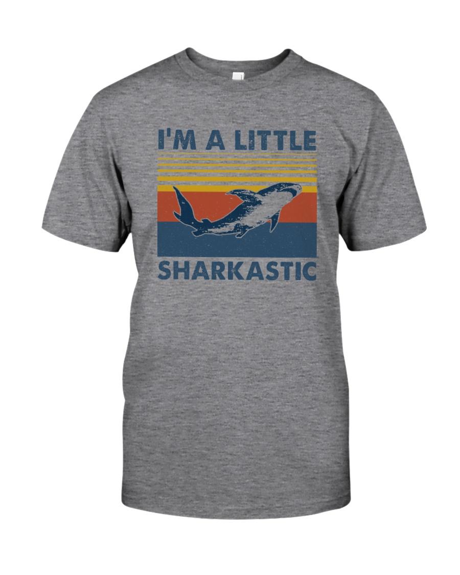I'M A LITTLE SHARKASTIC Classic T-Shirt