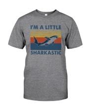 I'M A LITTLE SHARKASTIC Classic T-Shirt front
