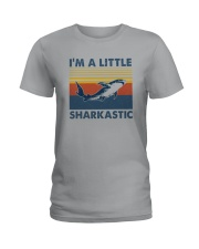 I'M A LITTLE SHARKASTIC Ladies T-Shirt thumbnail